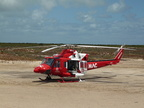Bell 412 Rescue - medivac helicopter 2